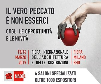 MADE expo – Rho 13-16 marzo 2019