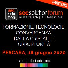 SECSOLUTIONFORUM – Marina di Pescara 18 giugno 2020 (variata la data)
