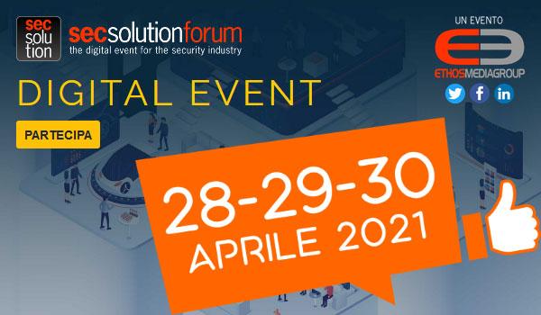 SECSOLUTION FORUM 2021 28-29-30 APRILE 2021