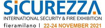 SICUREZZA 2021 – Fiera Milano, Rho 22-24 novembre